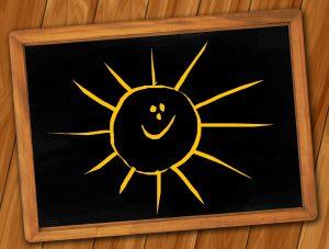 Sole che sorride